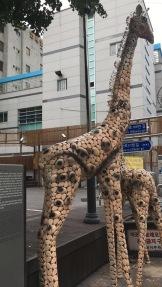 A fun statue